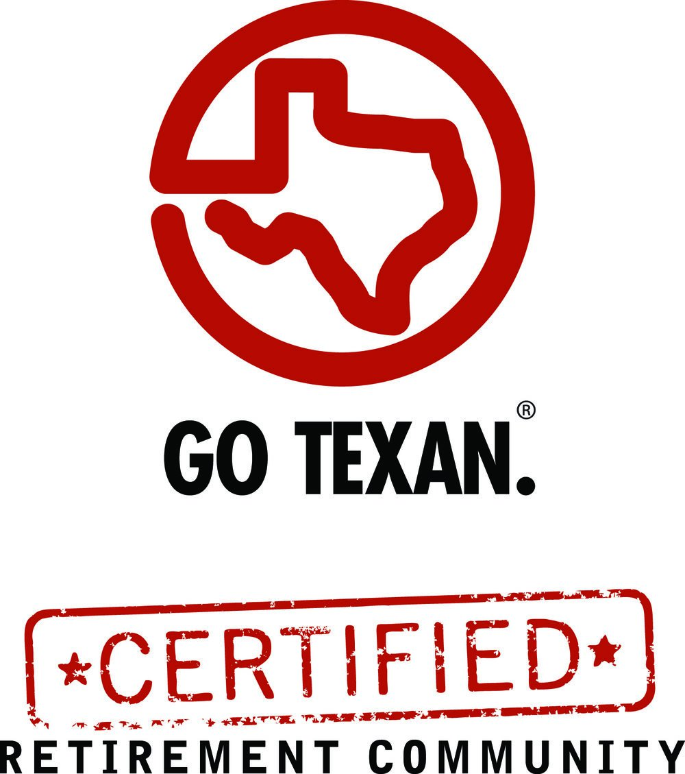 Go Texan Certified Retirement Community Logo